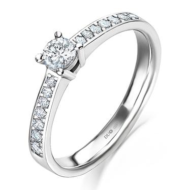 b6f5e1993f86 Anillo Oro blanco 18 Kt. Diamantes Ref. 1015D - Joyería Dabra
