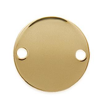 Cogante Plaque Oro 750. 3 Micras.
