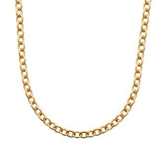 Collar Plaque Oro 750. 3 Micras.